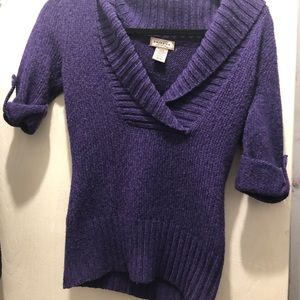 Purple Sweater